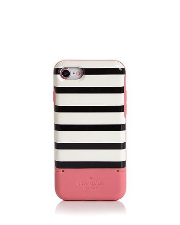 kate spade new york - Stripe Credit Card iPhone 8 Case
