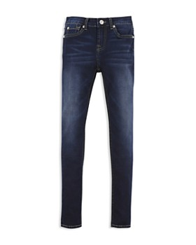 7 For All Mankind - Girls' Dark-Wash Skinny Jeans - Big Kid