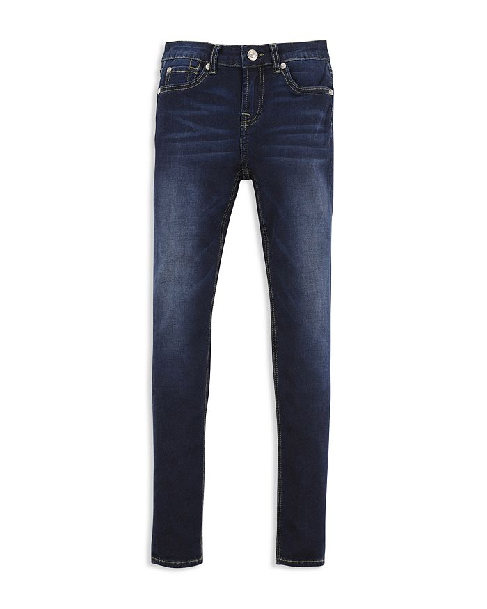 7 For All Mankind - Girls' Dark-Wash Skinny Jeans - Big Kid