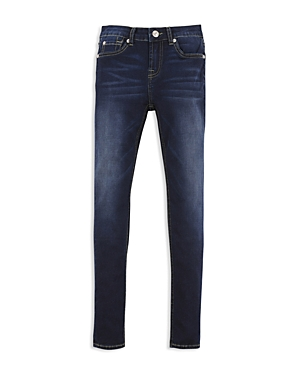 7 For All Mankind Girls' Dark-Wash Skinny Jeans - Big Kid