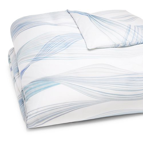 Schlossberg - Aria Bleu Duvet Cover, Queen - 100% Exclusive