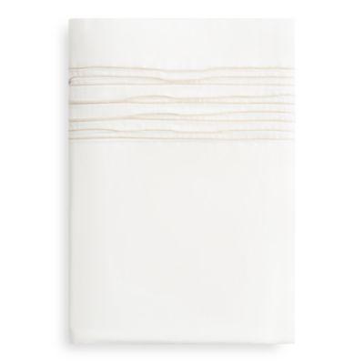 Ripple Pleat Flat Sheet, Queen - 100% Exclusive