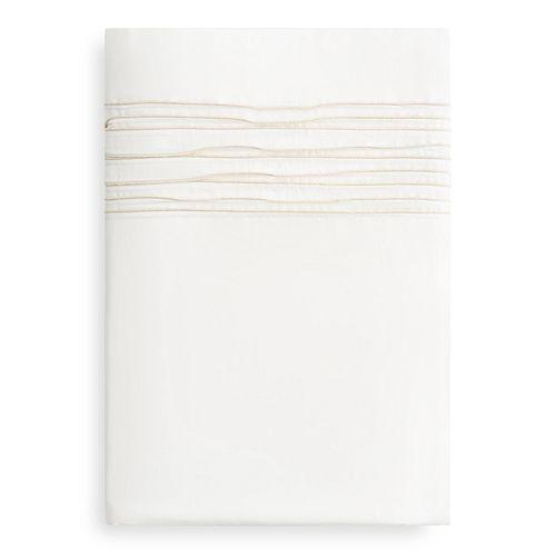 Vera Wang - Ripple Pleat Flat Sheet, Queen - 100% Exclusive