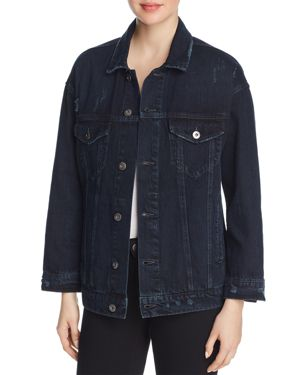 CELESTE STAR-BACK DENIM JACKET