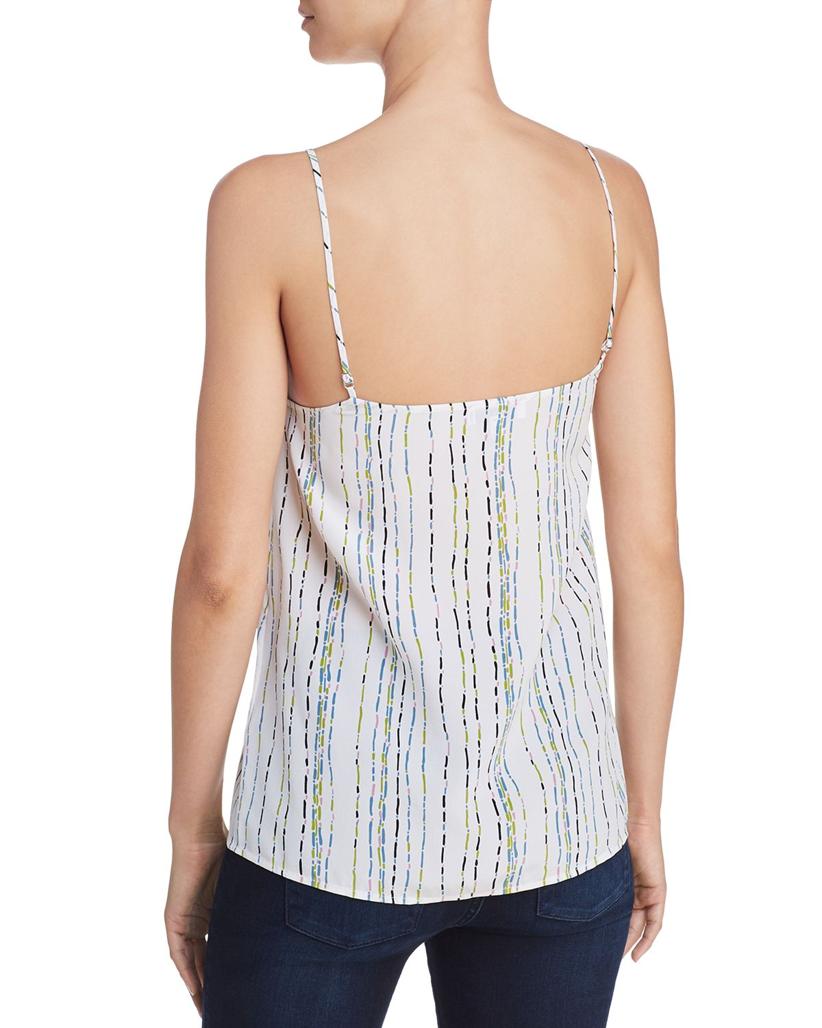 Layla Printed Silk Camisole Top by Equipment