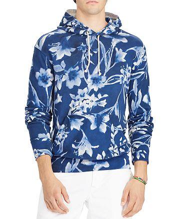 1a2f3337e2e83 Polo Ralph Lauren - Floral Spa Terry Hooded Sweatshirt