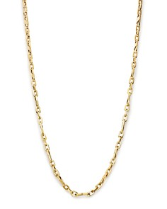 "Bloomingdale's Men's Oval Link Necklace in 14K Yellow Gold, 24"" - 100% Exclusive_0"