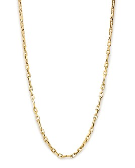"""Bloomingdale's - Men's Oval Link Necklace in 14K Yellow Gold, 24"""" - 100% Exclusive"""
