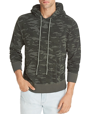 Joe's Jeans Camp Camouflage Hooded Sweatshirt