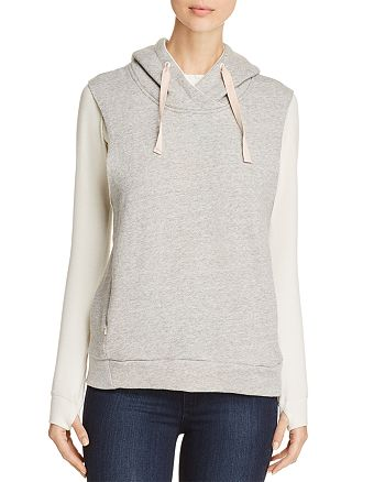 Scotch & Soda - Layered-Look Hooded Sweatshirt