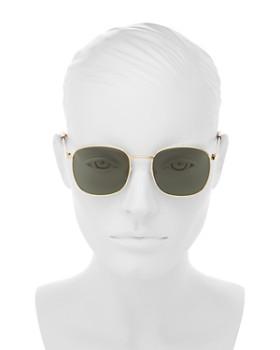 Le Specs - Men's Neptune Polarized Square Sunglasses, 49mm