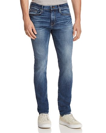 FRAME - L'Homme Slim Fit Jeans in Bayfield