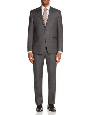 Sharkskin Classic Fit Suit Pants - 100% Exclusive