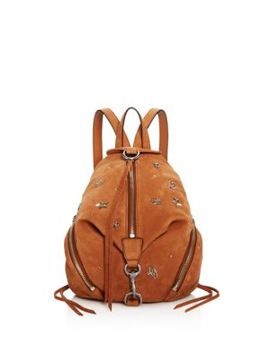 Rebecca Minkoff Medium Julian Nubuck Backpack - 100% Exclusive 2812671