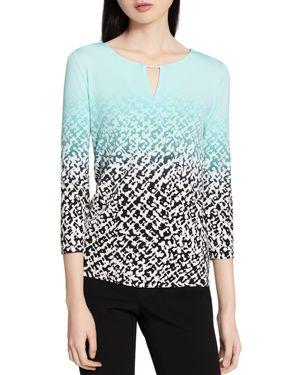 Calvin Klein Printed Ombre Top