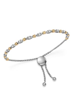 Bloomingdale's Diamond Bolo Bracelet in 14K Yellow & White Gold, 0.75 ct. t.w. - 100% Exclusive