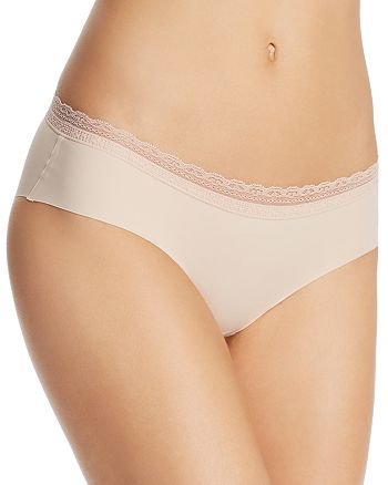 Naked - Lace-Trim Seamless Hipster