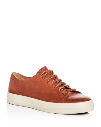 ef93ebb56ec Vince Men s Luggage Leather Lace Up Sneakers
