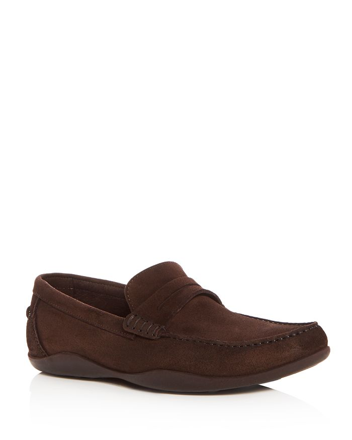 Harrys of London - Men's Basel Suede Penny Drivers