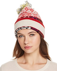 Burberry Mixed Fair Isle Beanie - Bloomingdale's_0