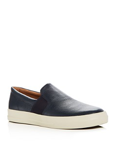 Vince - Men's Caleb Leather Slip-On Sneakers