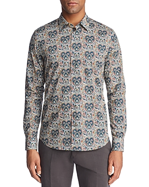 Paul Smith Liberty Print Floral Slim Fit Button-Down Shirt