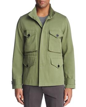 Paul Smith - Field Jacket with Zip-In Hood