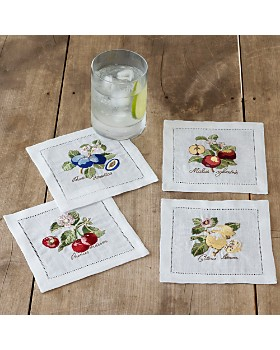 Villeroy & Boch - French Garden Cocktail Napkins, Set of 4