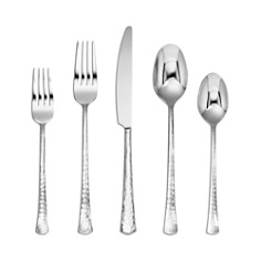 Cambridge Silversmiths Raegan Mirror Hammered 20-Piece Flatware Set - Bloomingdale's Registry_0