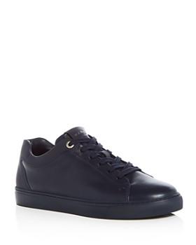 Harrys of London - Men's Tom Leather Lace Up Sneakers