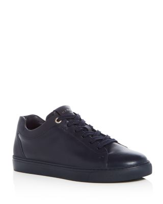 Men's Tom Leather Lace Up Sneakers by Harrys Of London