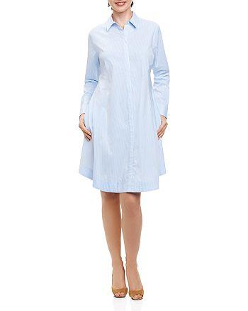 Foxcroft - Striped Shirt Dress