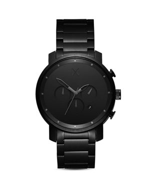 Chrono Chronograph Bracelet Watch, 40Mm in All Black