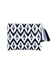 Sky Ikat Embroidered Pouch- 100% Exclusive - Bloomingdale's Registry_0