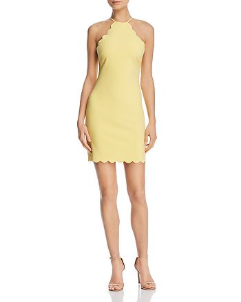 LIKELY - Everly Scalloped Sheath Dress - 100% Exclusive