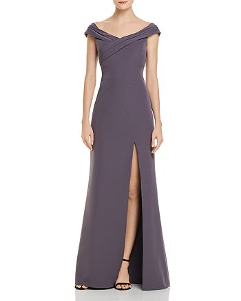 Aidan Mattox Off The Shoulder Gown 100 Exclusive Bloomingdales