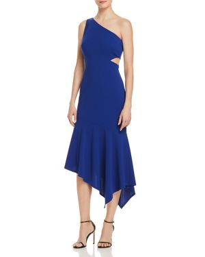 DECODE 1.8 One-Shoulder Cutout Dress - 100% Exclusive in Nautical Blue