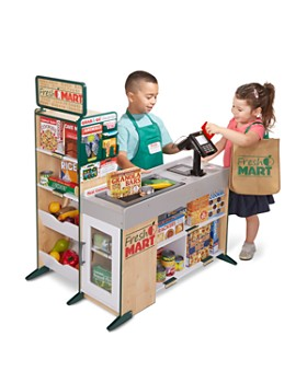 Melissa & Doug - Fresh Mart Grocery Store Accessories Set - Ages 3+