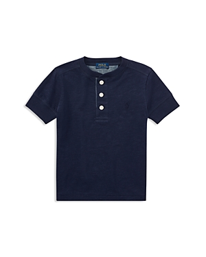 Polo Ralph Lauren Boys Cotton Jersey Henley Shirt  Little Kid