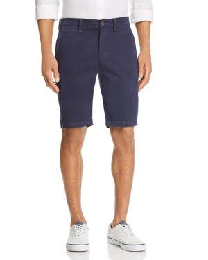 FLAG & ANTHEM Memphis Garment Dye Shorts in Navy