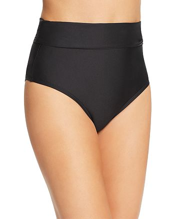ATHENA - Fold-Over High-Waist Bikini Bottom