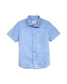 Armani Junior Boys' Short-Sleeve Button Down - Little Kid, Big Kid - Bloomingdale's_0