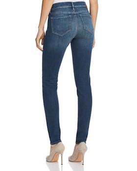 Mavi - Adriana Mid Rise Super Skinny Jeans in Shaded Tribeca