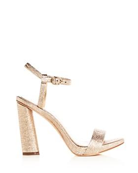 Imagine VINCE CAMUTO - Women's Sune Distressed Metallic High-Heel Sandals