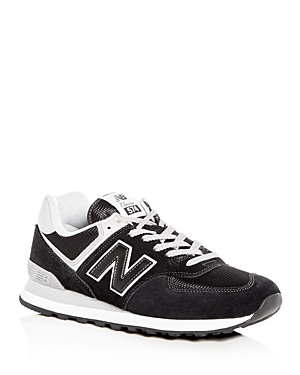 New Balance Men's Classic 574 Suede Lace Up Sneakers