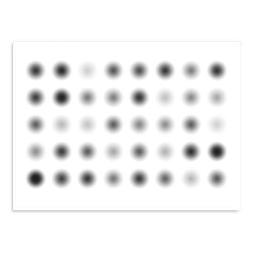 Art Addiction Inc. - Blinking Dots Wall Art