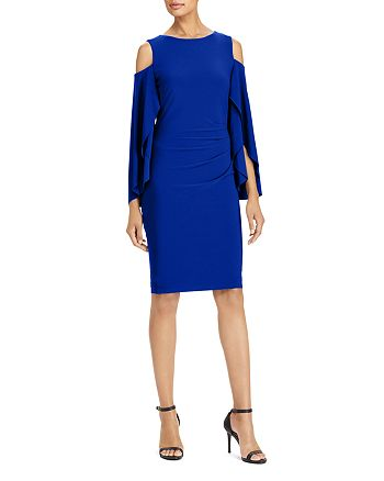 Ralph Lauren - Cold-Shoulder Dress
