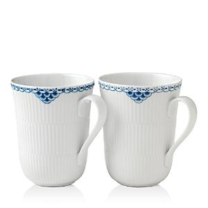 Royal Copenhagen Princess Mug, Set of 2