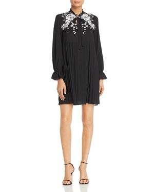 Le Gali Margo Floral Lace Pleated Dress - 100% Exclusive