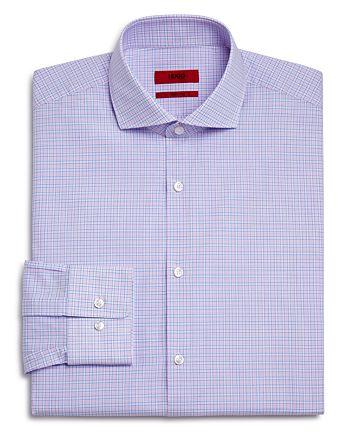 HUGO - Check Regular Fit Dress Shirt